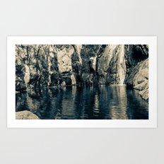 Wading Pool Art Print