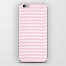 Pink Zigzag Design iPhone & iPod Skin