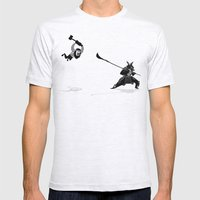 PDX Vs TYO Mens Fitted Tee Ash Grey SMALL