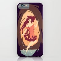 iPhone & iPod Case featuring goddess of the woods by Yetiland