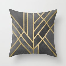 Art Deco Geometry 1 Throw Pillow