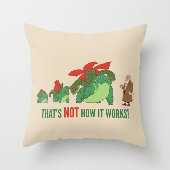 Conflicting Theories Throw Pillow
