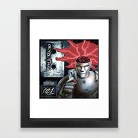Open Beat Tape 001 - Cover Art - Print Framed Art Print