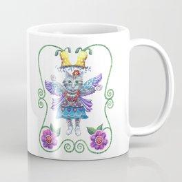 Mug - Angel Kitty - Shelley Ylst Art