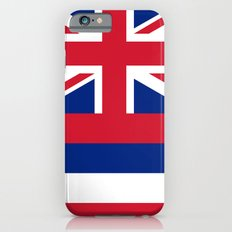 The State Flag Of Hawaii… iPhone 6 Slim Case