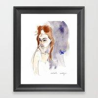 Glamorous Elephant, Insp… Framed Art Print