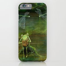 Frog on his Rock Slim Case iPhone 6s