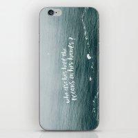 HELD THE OCEANS? iPhone & iPod Skin