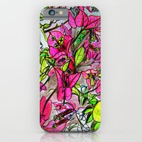 iPhone & iPod Case featuring Bougainvillea 2 by Davey Charles