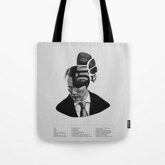 Hannibal Lecter Phrenology Tote Bag