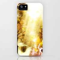 iPhone Cases featuring Dancing Fairies by Kristofferson Brice