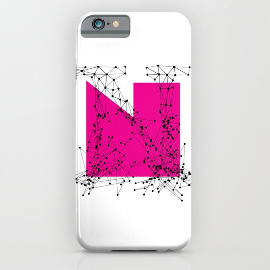 N (abstract geometrical type) iPhone & iPod Case
