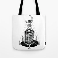 Devil's Moonshine Tote Bag