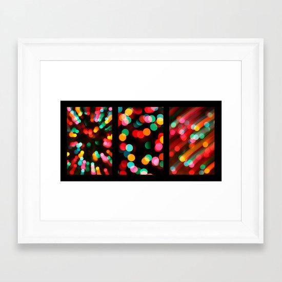 Too Much Eggnog. Framed Art Print