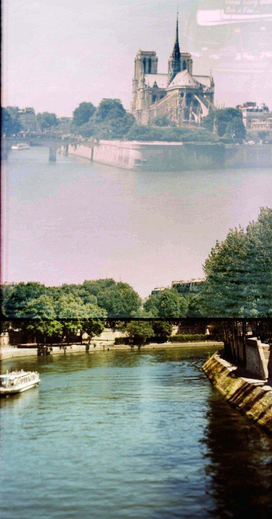Notre Dame, Paris Canvas Print