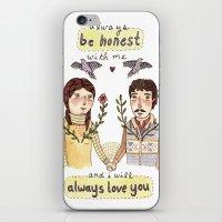 Always Be Honest iPhone & iPod Skin