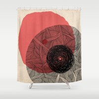 - the love - Shower Curtain