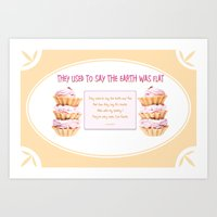 They Used To Say The Ear… Art Print