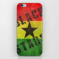 Ghana Black Stars iPhone & iPod Skin