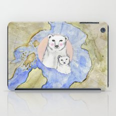 Polar Bear Portrait iPad Case