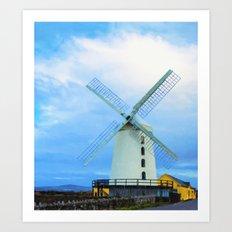 Blennerville Windmill, C… Art Print