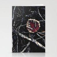 Dark Fall Stationery Cards