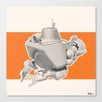 Exporers III - Submarine Canvas Print
