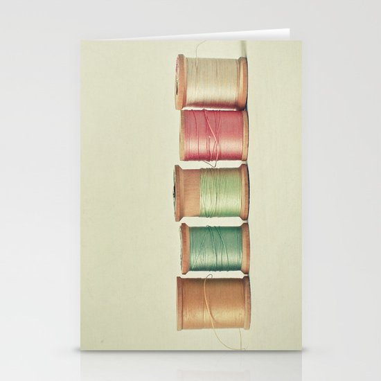 Five in a Row Stationery Card