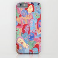 iPhone & iPod Case featuring Alien Party Hard by Clara López