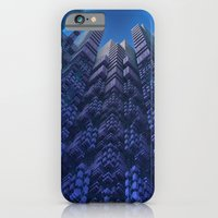 iPhone Cases featuring Skyscrapers by Lyle Hatch