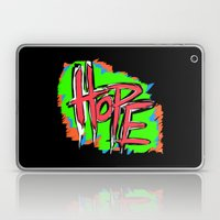 Hope (retro Neon 80's St… Laptop & iPad Skin