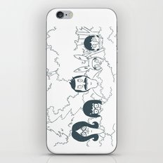 Belchers behind bushes iPhone & iPod Skin