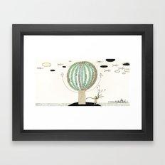 Knock Knock Knock-Tree Framed Art Print