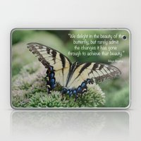 We delight in the beauty of the butterfly.... Laptop & iPad Skin