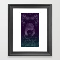 The Haunted Man Framed Art Print