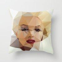 Monroe. Throw Pillow