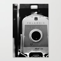 Polaroid 150 Canvas Print