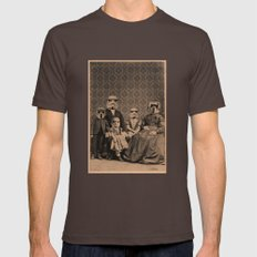 Meet The Troopers Mens Fitted Tee Brown SMALL