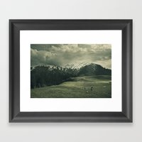 Spider Mountain II Framed Art Print