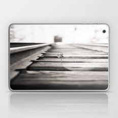 railroad flower  Laptop & iPad Skin