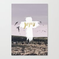 JESUS | EASTER | CROSS Canvas Print