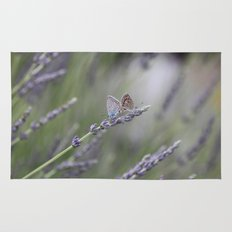Lavender Butterflies - JUSTART © Rug