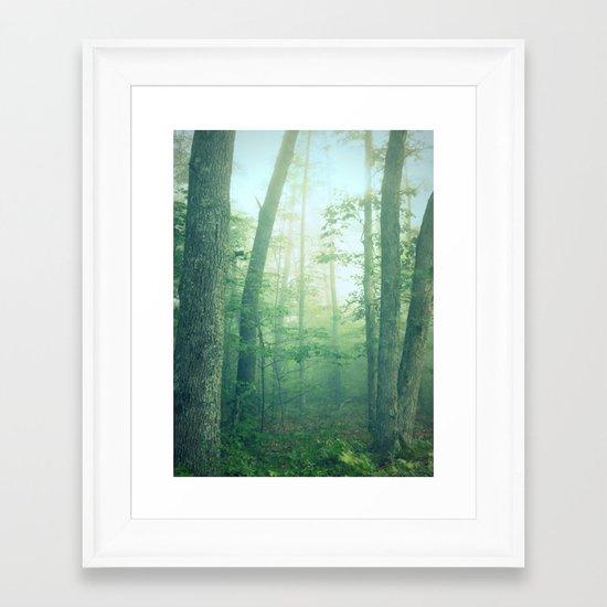 Tell Me Your Secrets Framed Art Print