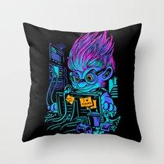 The Forum Menace Throw Pillow