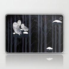 Snow Owls Laptop & iPad Skin