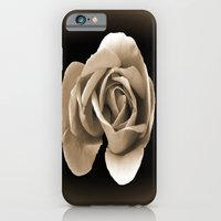 Rose In Sepia iPhone 6 Slim Case