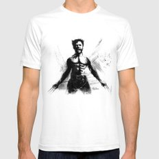 The Immortal. Mens Fitted Tee White SMALL