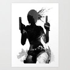 Lara Croft Art Print