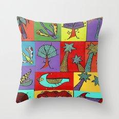 Quilt Blocks Throw Pillow