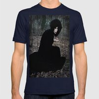 The Witch In The Woods Mens Fitted Tee Navy SMALL